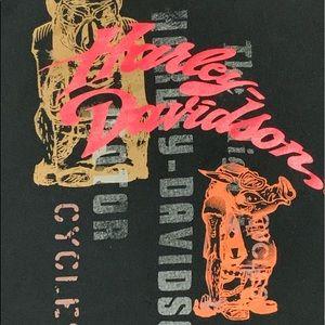 (2005) Harley Davidson Motorcycles Hog Pig Graphic